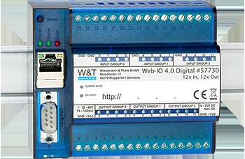 Web-IO 4.0 Digital, 12xInput, 12xOutput